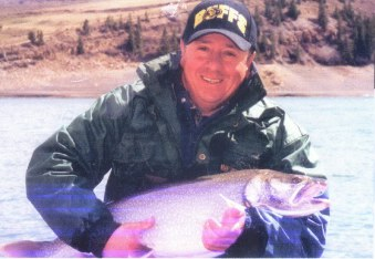 Huge lake trout are great sport mid to late May when reservoir is low.