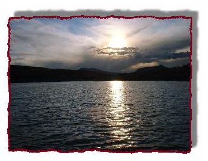 Sunset on Green Mountain Reservoir