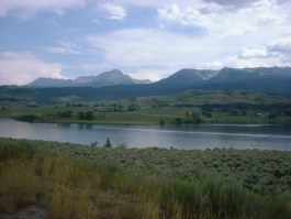 Green Mountain Reservoir and Gore Range