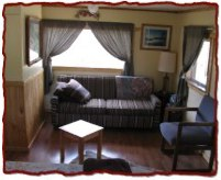 Cabin C sofa area